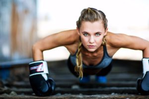 madison Iseman workout