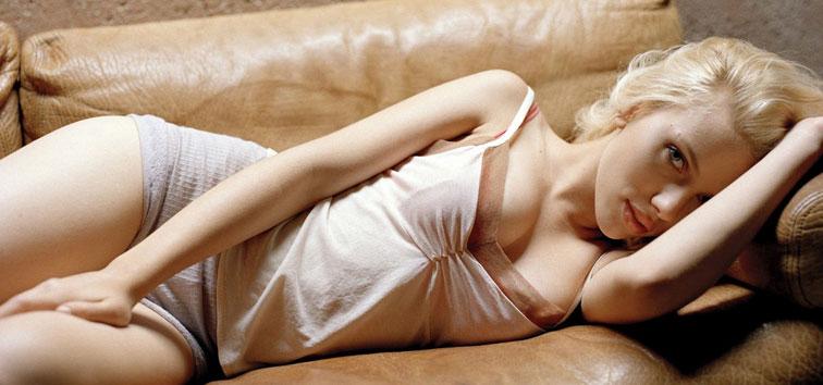 Scarlett Johansson head